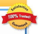 Seriously, we're 100% Trusted!  Take our word for it!