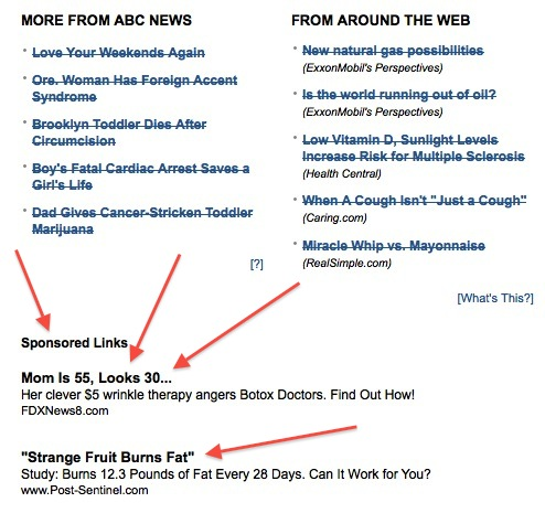abcnewsads1 Should Publishers Stand By Their Advertisements?